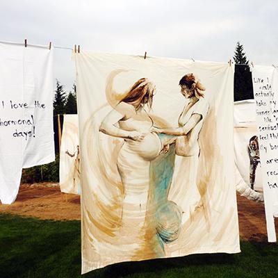 'Field of Visions' installation